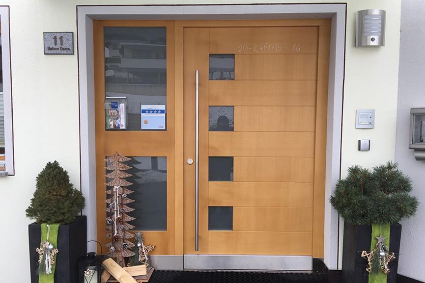 Unsere Haustüren, Objekttüren und Innentüren aus Holz