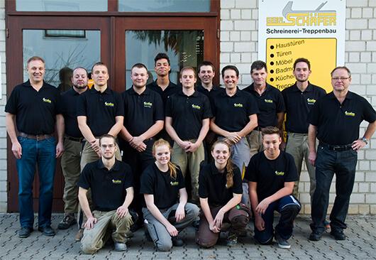 Teambild unserer Schreiner-Experten aus Rottenburg